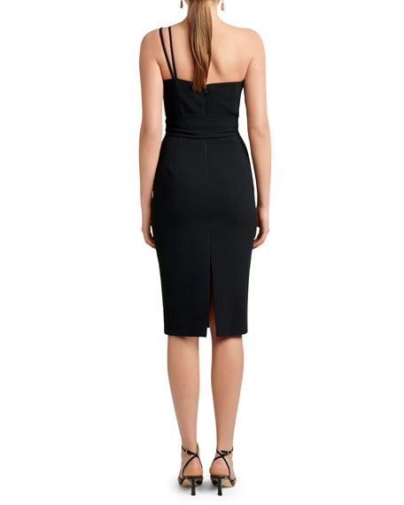 Image 3 of 4: Ever New Asymmetric One-Shoulder Bodycon Dress