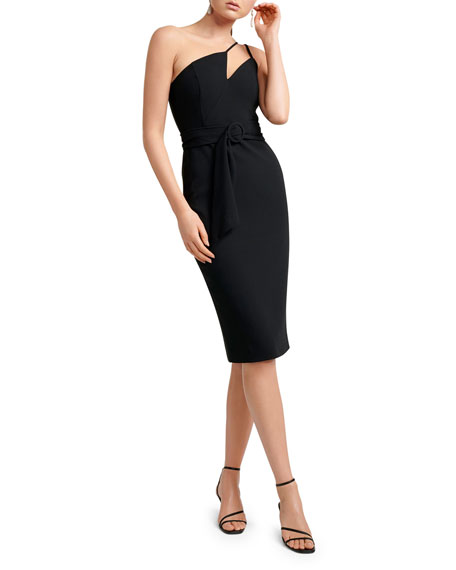 Image 1 of 4: Ever New Asymmetric One-Shoulder Bodycon Dress