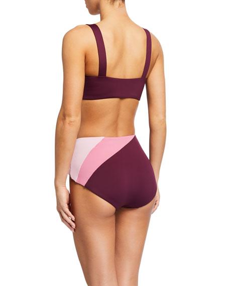 kate spade new york reversible bikini swim top