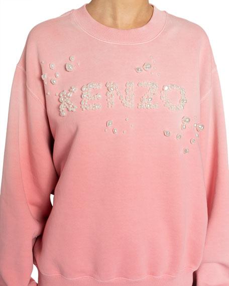 Kenzo Oversized Bubble Logo Sweatshirt