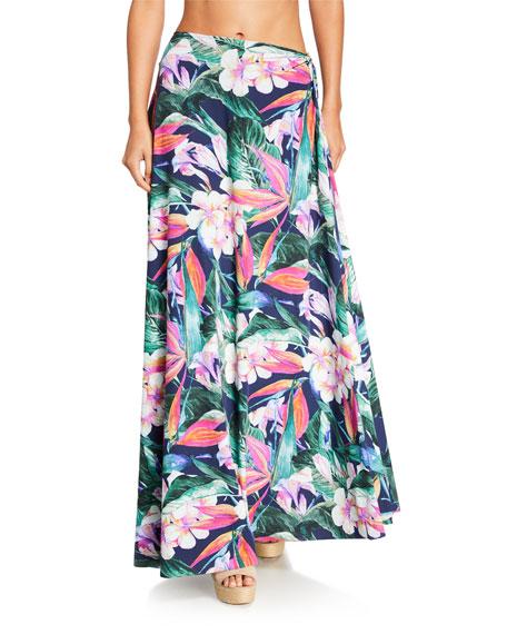 Chiara Boni La Petite Robe Rodeia Wrap Maxi Coverup Skirt