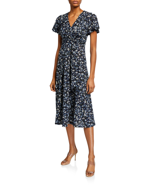 MICHAEL Michael Kors Garden Crossover Dress
