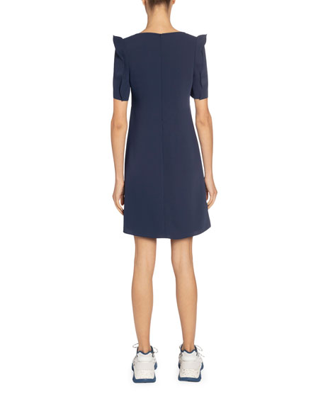 Image 2 of 2: Kenzo Japanese Sleeves Shift Dress