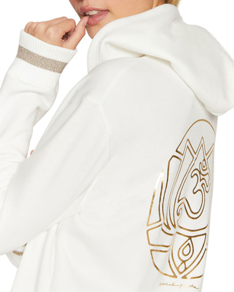 Spiritual Gangster Lotus Meditation Zip Hoodie Jacket