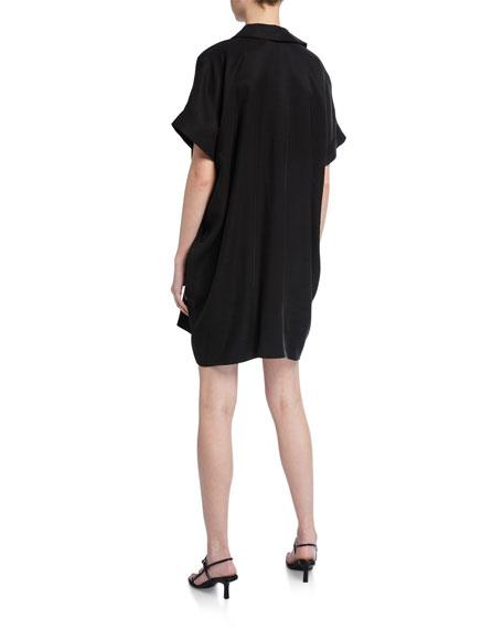 Natori Classic Sanded Twill Caftan Dress