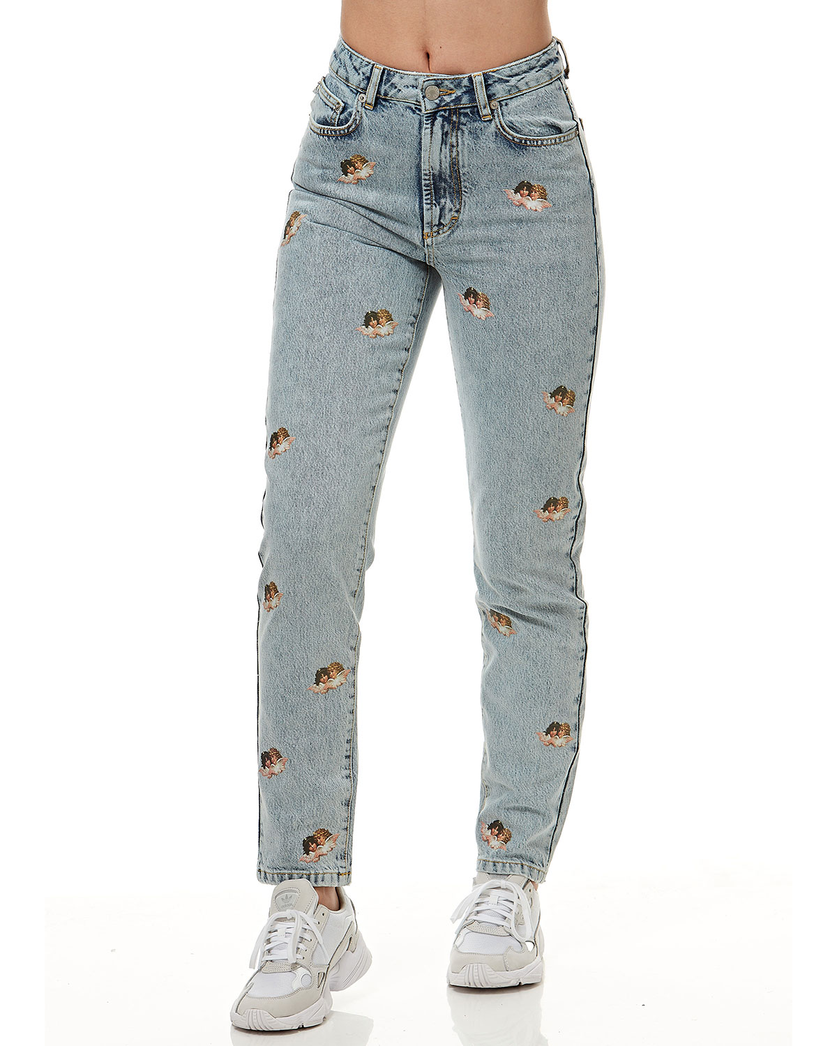 Fiorucci Tara Mini Angels Light Vintage Jeans
