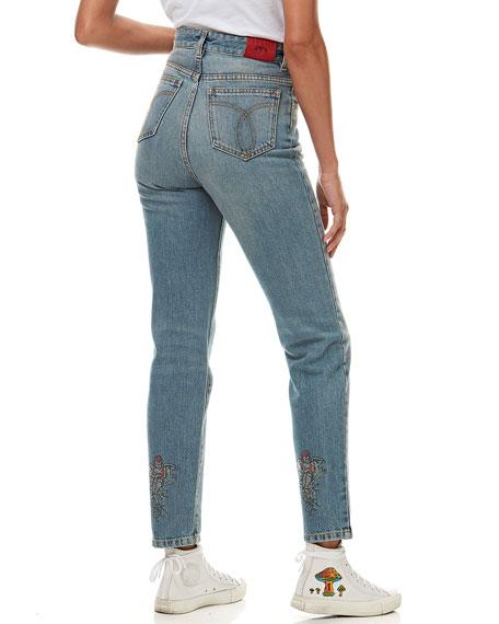 Fiorucci Tara Mushroom Light Vintage Jeans