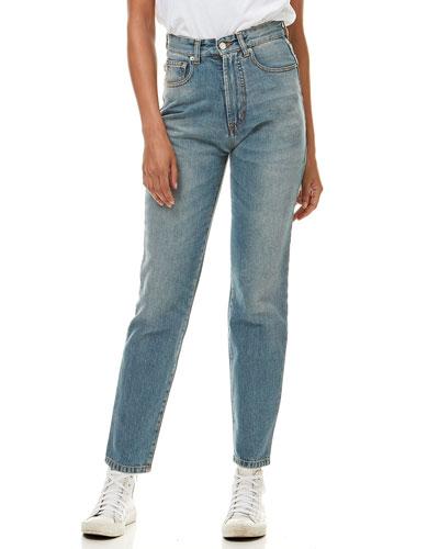Tara Mushroom Light Vintage Jeans