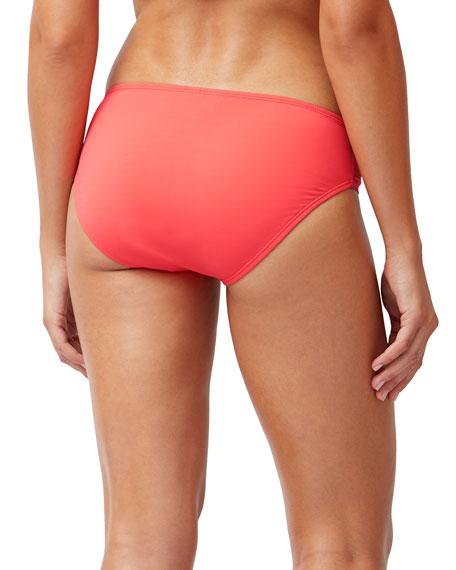 Tommy Bahama Pearl Side Shirred Bikini Swim Bottoms