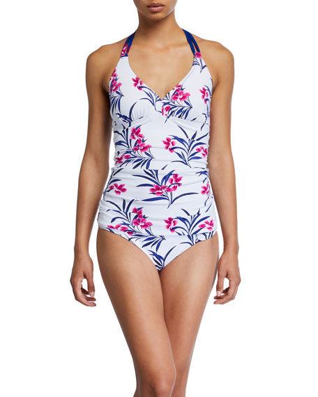 Tommy Bahama Oasis Blossoms Reversible Hipster Bikini Bottom