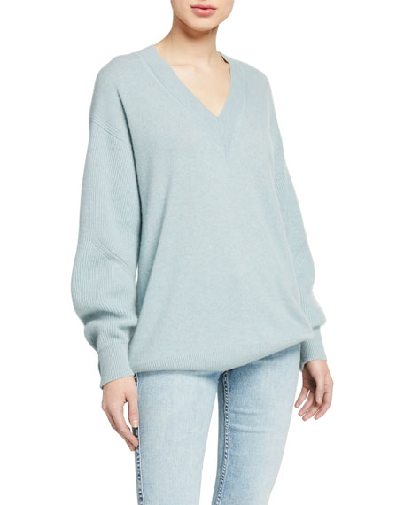 Rag & Bone Logan Cashmere V-Neck Sweater