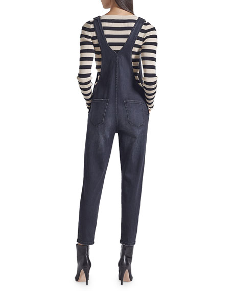 Current/Elliott The Ranch Hand Cropped Overalls