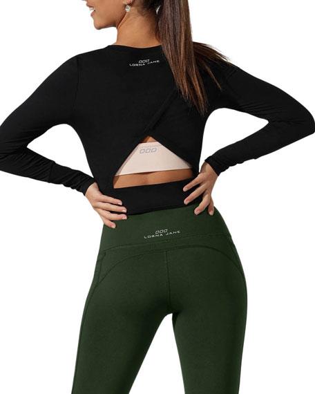 Lorna Jane Workout Bare Minimum Crop Top