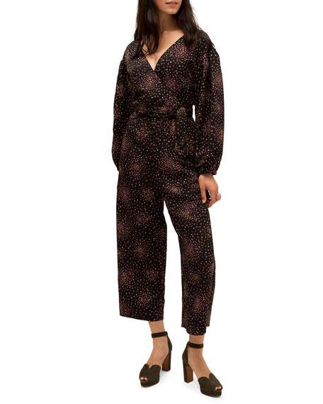 kate spade new york disco dots jumpsuit