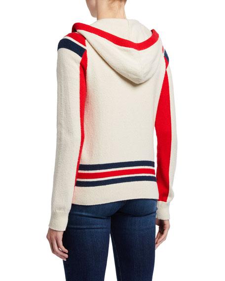 Rag & Bone Julee Zip-Up Hoodie Sweater