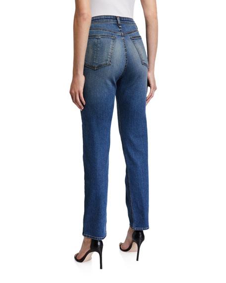 Rag & Bone Jane Super High-Rise Button-Fly Cigarette Jeans