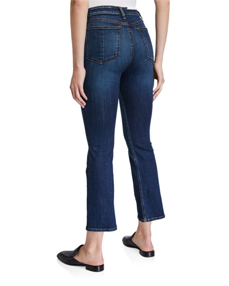 Image 2 of 3: Rag & Bone Nina High Rise Ankle Flare Jeans