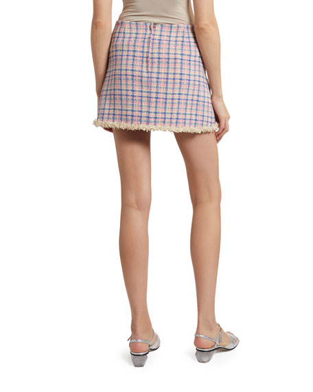 Image 2 of 2: The Marc Jacobs The Tweed Skirt