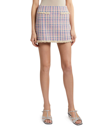 Image 1 of 2: The Marc Jacobs The Tweed Skirt