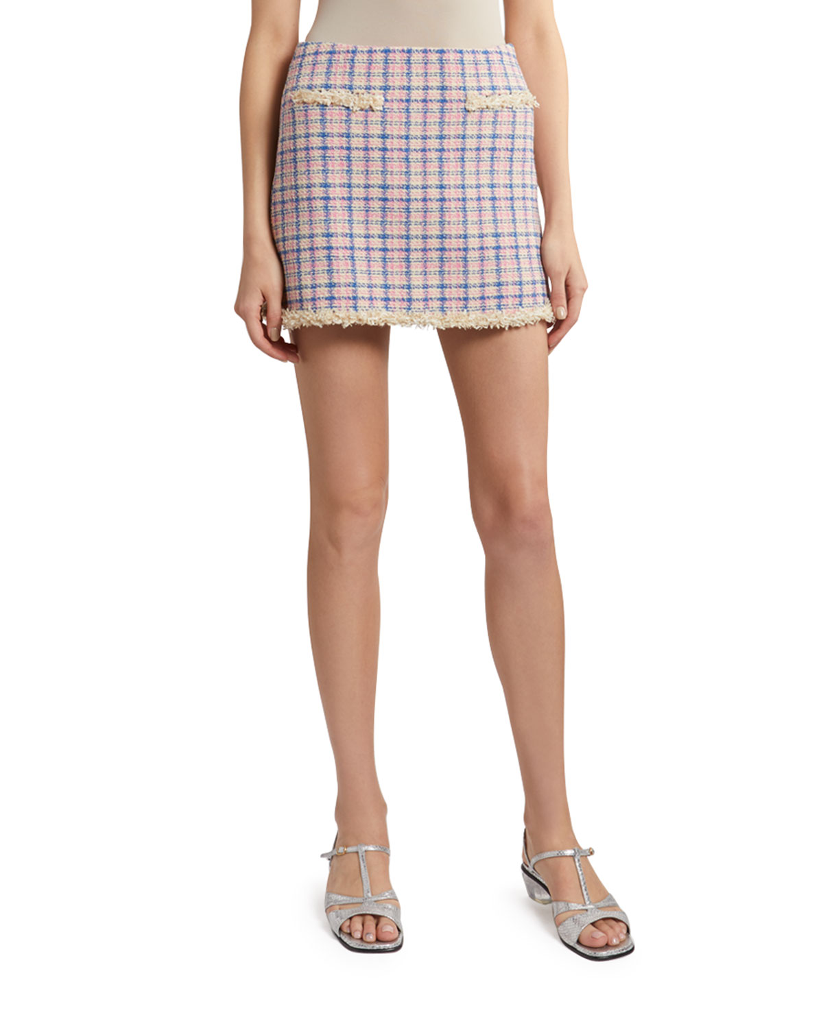 The Marc Jacobs The Tweed Skirt