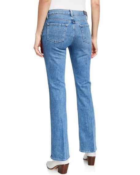 J Brand Sallie Mid-Rise Boot-Cut Jeans