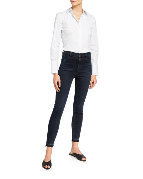 J Brand Leenah Super High-Rise Skinny Jeans