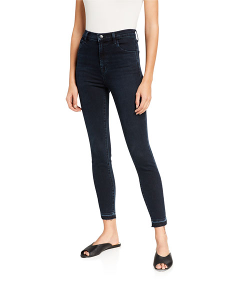J Brand Jeans Leenah Super High-Rise Skinny Jeans