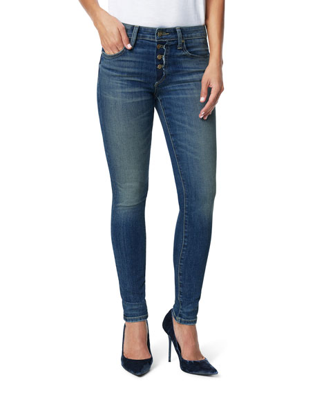 Joe's Jeans Jeans The Charlie Ankle Skinny Jeans with Button Fly