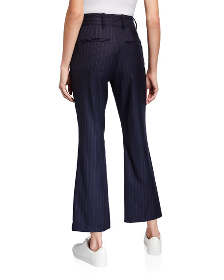 RE/DONE 70s Pinstriped Wool Trousers