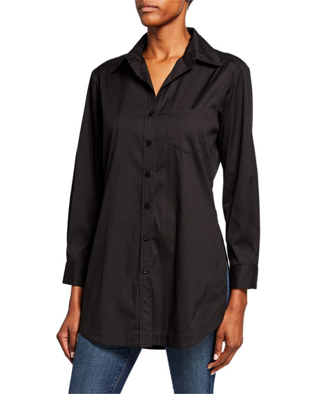 Finley Luca Button-Down Tunic Shirt