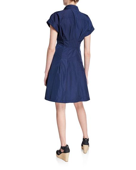 Finley Rocky Tie-Detail Poplin Dress