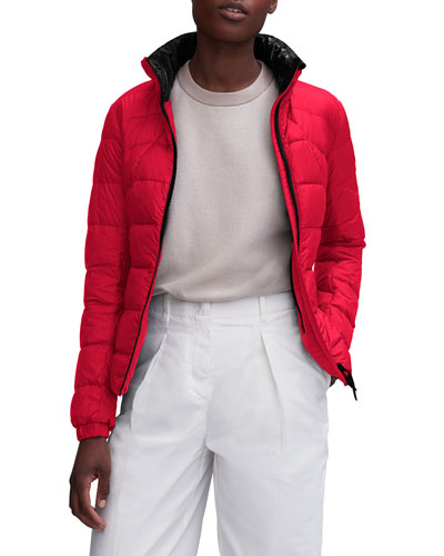 Abbott Zip-Up Puffer Hoodie Jacket