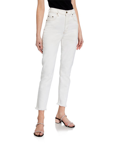 Frankie High-Rise Ankle Jeans