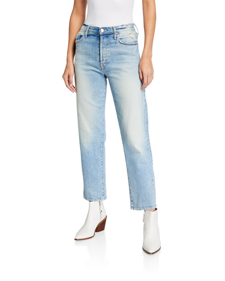 Mother Jeans The Huffy Flood Jeans
