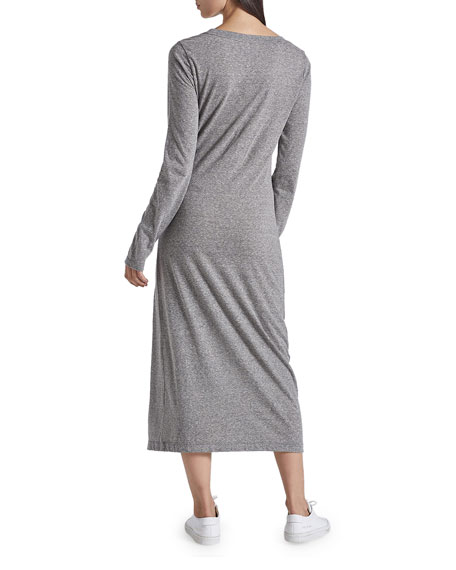 Current/Elliott The Vega Long-Sleeve Dress