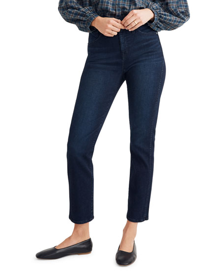 Madewell High-Rise Cropped Stovepipe Jeans