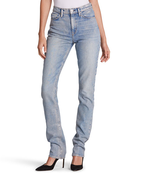 Hudson Jeans Holly High-Rise Straight Jeans