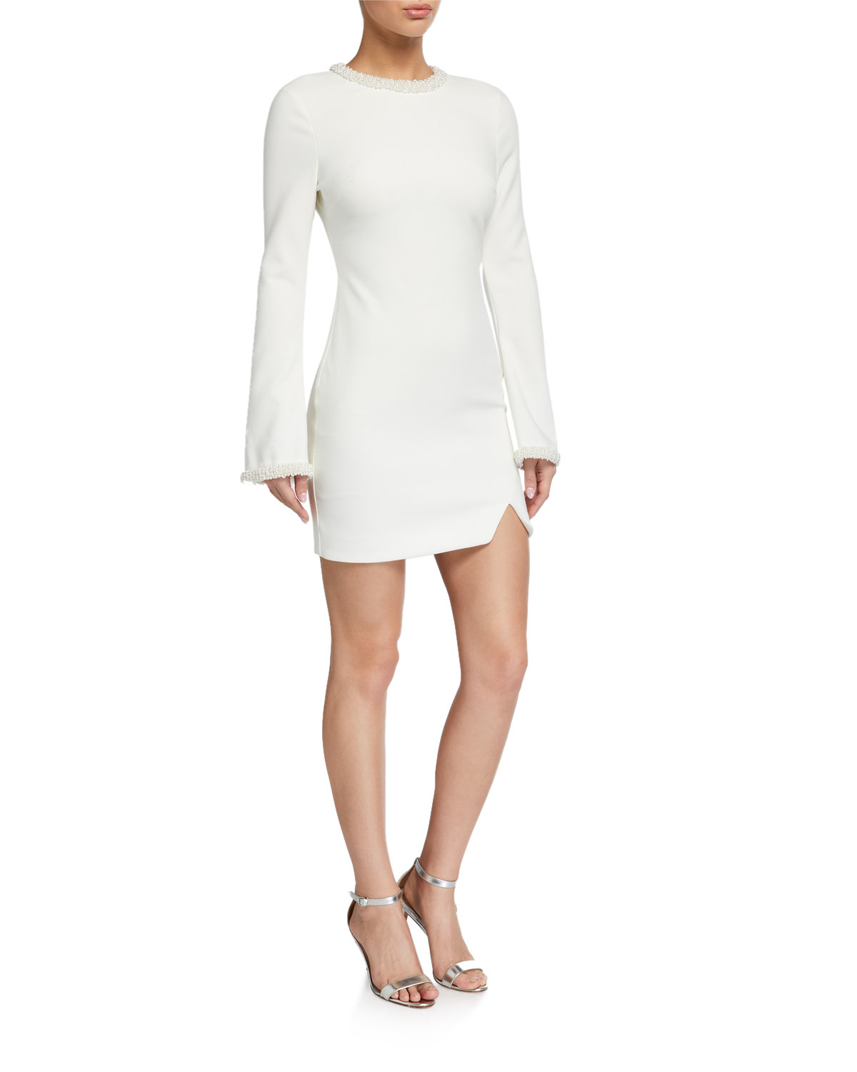 Likely Mabel Long-Sleeve Cocktail Dress