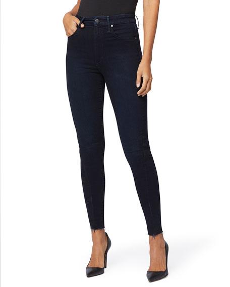 Joe's Jeans The Danielle High-Rise Skinny Jeans w/ Zippers