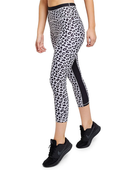 All Fenix Jagger Leopard-Print Cropped Leggings