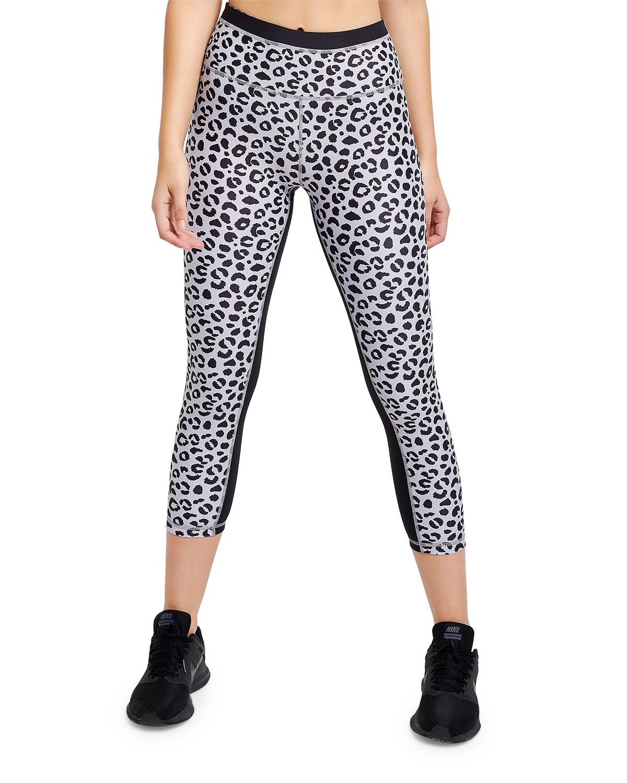 All Fenix Jagger Leopard-Print Cropped Leggings