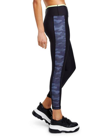 All Fenix Neon Camo-Print Cropped Leggings