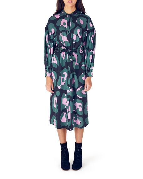 Whit Etta Long-Sleeve Dress