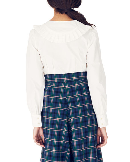 Whit Barrett Long-Sleeve Organic Cotton Top