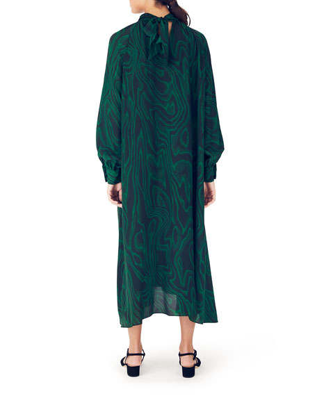 Whit Anselm Long Silk Dress
