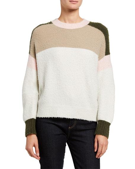 Rag & Bone Lilou Colorblock Crewneck Sweater