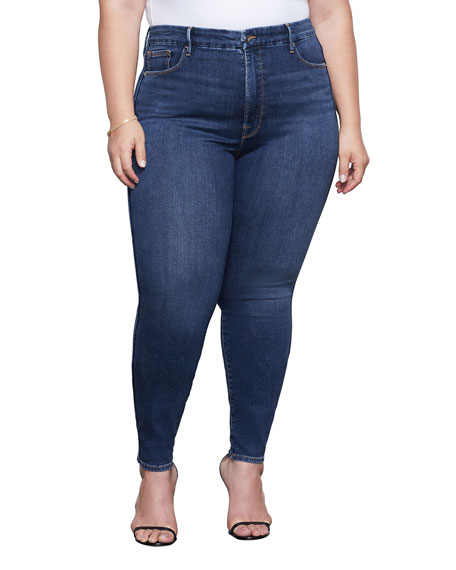 Image 2 of 4: Good American Good Curve Skinny Jeans - Inclusive Sizing