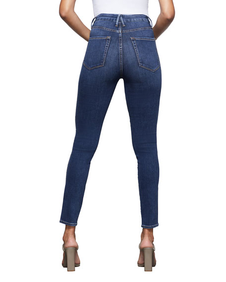 Image 3 of 4: Good American Good Curve Skinny Jeans - Inclusive Sizing
