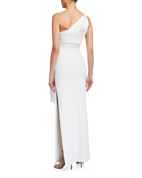 Solace London Mara One-Shoulder Maxi Dress