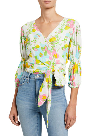 Faithfull the Brand Bisset Wrap Top